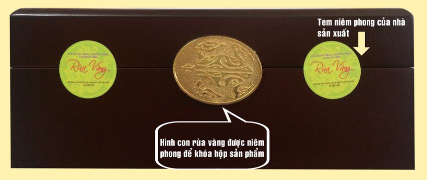 an cung rùa vàng loại 1 viên
